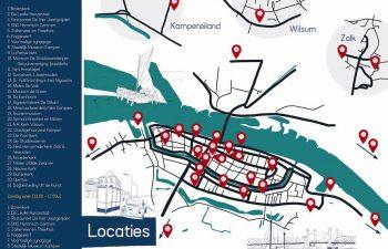Op zaterdag 11 en zondag 12 september gaat de Open Monumentendag door! Meer dan 30 monumenten openen hun deuren in de Gemeente Kampen. Natuurlijk is De Stadskazerne ook geopend!
